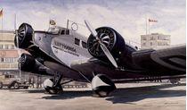 "Maquette d'avion : Junkers Ju-52 3/m ""Tante Ju"" 1:72"