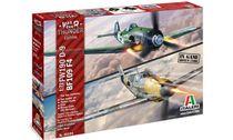 Maquette d'avion : Bf109F-4 & Fw190D-9 - War Thunder - 1:72 - Italeri 35101