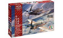 Maquette d'avion : P-47N & P-51D War Thunder - 1:72 - Italeri 35101