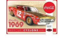 BOBBY ALLISON 1969 COCA-COLA MERCURY CYCLONE Echelle 1/25 - POLAR LIGHTS 948
