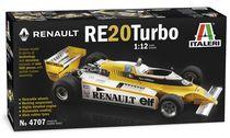 Maquette voiture de sport : Renault RE20 Turbo - 1:12 - Italeri 04707 4707