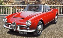 Maquette Alfa Roméo Giulietta Spider 1300 - 1:24 - Italeri 3653