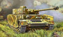 Maquette militaire : Panzer IV Ausf.G - 1/35 - Zvezda 3674, 03674