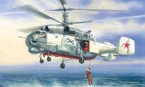 Maquette d'hélicoptère militaire : Kamov Ka-27 Sauvetage - 1/72 - Zvezda 07247 7247