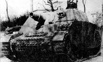 Maquette char d'assaut : Sturmpanzer IV «Brummbär» - 1/100 - Zvezda 6244 06244