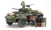 Maquette militaire : Char M8 Greyhound Combat Patrol 1/35 - Tamiya 25196 - france-maquette.fr