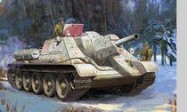 Maquette militaire : SU-122 - 1/72 - Zvezda 3691 03691 - France-maquette.fr