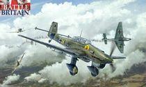 Maquette avion militaire : Junkers Ju87B Stuka - 1/48 - Italeri 02807 2807 - france-maquette.fr