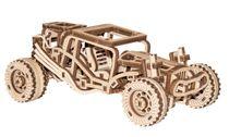 Puzzle 3D / Maquette bois - Buggy mécanisée - Wooden City WR336