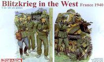 Figurines soldats : Blitzkrieg à l'Ouest France 1940 - 1/35 - Dragon 06347 6347