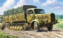 Maquette militaire : Halftrack L4500R Maultier 4,5t - 1:35 - Zvezda 03603 3603