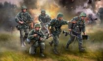 Figurines militaires : Panzergrenadiers - 1/72 - Zvezda 06270 6270