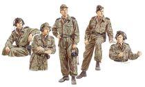 Figurines militaires : Tankistes Allemands Russie 1943 - 1/35 - Dragon 06214 6214