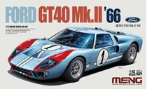 Maquette voiture : Ford GT40 MKII - 1:12 - Meng RS002