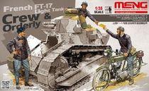 Figurines au 1:35 du FT-17 français 1917 - Meng Meng HS005