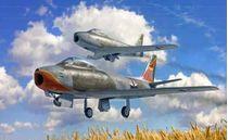 Maquette avion moderne : F-86E Sabre - 1:48 - Italeri 2799 02799 - france-maquette.fr