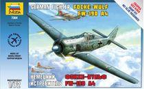 Maquette d'avion militaire : Focke Wulf Fw190A-4 - 1/72 - Zvezda 7304