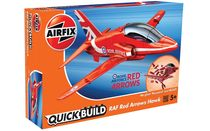 Quick Build - Maquette avion militaire : Red Arrows Hawk - Airfix J6018