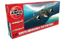 Maquette d'avion militaire : North American B25C/D Mitchell - 1:72 - Airfix 06015