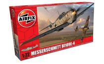 Maquette d'avion militaire : Messerschmitt Bf109E-4 - 1:72 - Airfix 1008A
