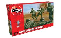 Figurines militaires : Infanterie allemande WWII - 1:72 - Airfix 00705, 1705