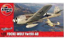 Maquette d'avion militaire : Focke-Wulf Fw190A-8 - 1:72 - Airfix 01020A 1020A