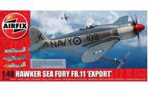 Maquette d'avion militaire : Hawker Sea Fury FB.11 'Export Edition' - 1/48 - Airfix 06106 6106