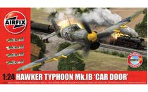 Maquette d'avion militaire :  Hawker Typhoon MK.1B1B 'Car Door' - 1:24 - Airfix 19003A