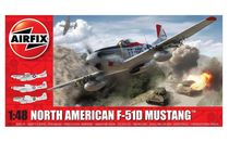 Maquette d'avion militaire : North American F-51D Mustang - 1/48 - Airfix 05136 5136