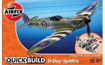 Quick Build - Maquette avion militaire : D-Day Spitfire - Airfix J6045