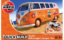 Maquette voiture : QUICK BUILD Surfin' VW Camper - Airfix J6032