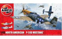 Maquette d'avion militaire : North American P-51D Mustang - 1/48 - Airfix 05138 5138