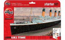 Maquette navire civil : Starter set R.M.S Titanic - 1:1000 - Airfix 55314