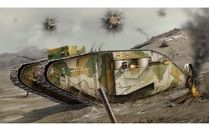 Maquette militaire : WWI Female Tank - 1:76 - Airfix 02337V - france-maquette.fr