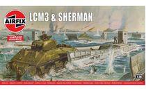 Maquette militaire : LCM3 & Sherman - 1:76 - Airfix 03301V - france-maquette.fr