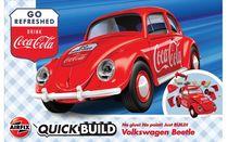 Maquette voiture : QUICKBUILD Coca Cola VW Beetle - Airfix J6048 - france-maquette.fr