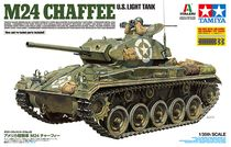 Maquette militaire char américain M24 Chaffee - 1/35 - Tamiya 37020