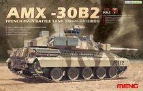 Maquette blindé : Char français AMX-30B2 - 1:35 - Meng TS013
