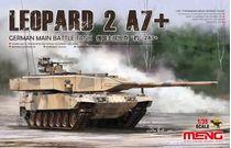 Maquette de tank : Tank Leopard 2 A7+ - 1:35 - MENG TS042