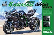 Maquette voiture : Kawasaki Ninja H2R - 1:9 - Meng MT001 MT-001