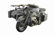 Maquette militaire : Zündapp KS 750 Sidecar - 1:9 - Italeri 7406, 07406