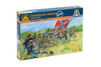 Figurines militaires : Infanterie confédérée - 1/72 - Italeri 06178