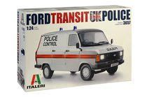 Maquette voiture : Ford Transit Police Britannique - 1:24 - Italeri 03657