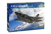 Maquette d'avion : F-35 A LIGHTNING II CTOL - 1:72 - Italeri 01409