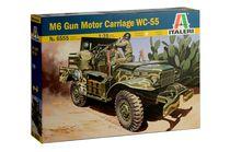 Maquette véhicule blindé : M6 Gun Motor Carriage WC-55 - 1:35 - Italeri 6555