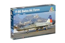 Maquette avion militaire : F-5E Swiss Air Force - 1/72 - Italeri 01420