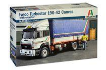 Maquette camion : Iveco turbo star 190,42 - 1:24 - Italeri 03939