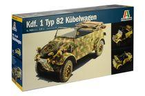 Maquette militaire : Kdf. 1 Typ 82 Kübelwagen - 1:9 - Italeri 07405