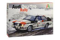 Maquette voiture : Audi Quattro Rally - 1:24 - Italeri 03642 3642