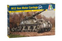 Maquette militaire : Blindé M12 G.M.C. - 1:72 - Italeri 07076 7076